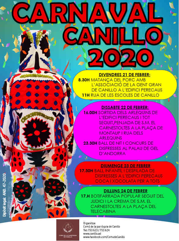 Carnaval Canillo 2020